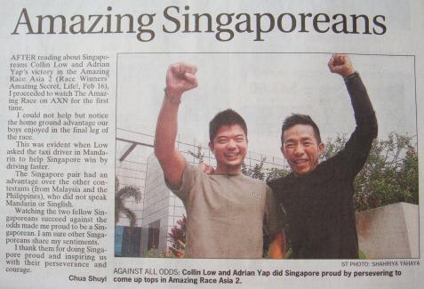 Amazing Singaporeans