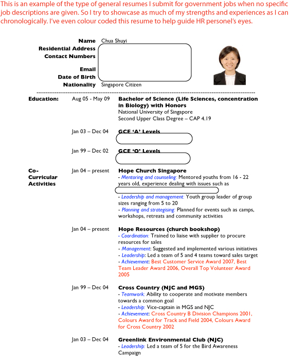 Sample Resumes Job Hunter 39 S Guide